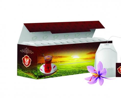 Saffron Tea Bag